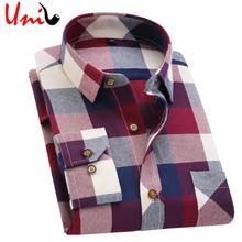 Мужская рубашка 2016 Autumn Classic Flannel