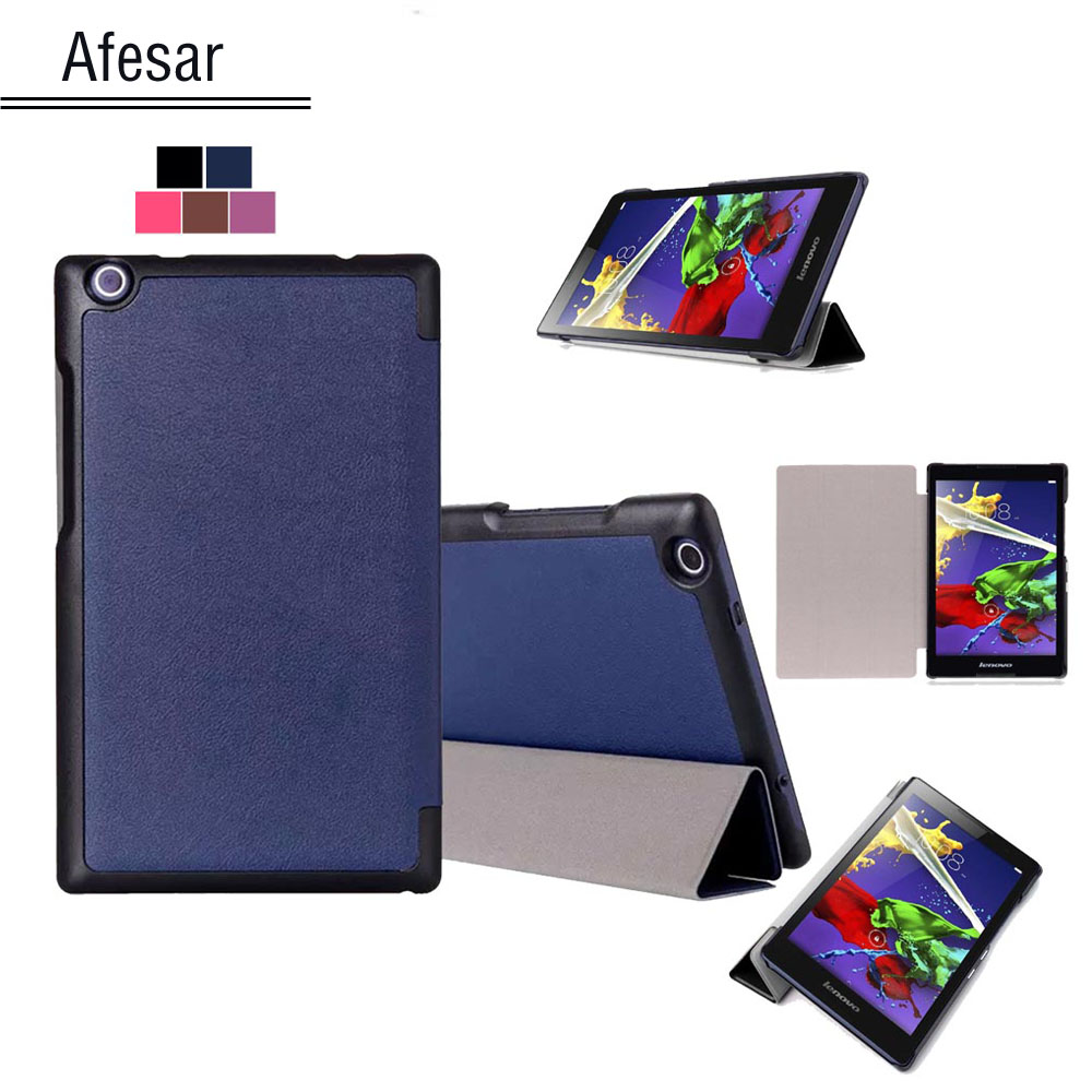 For Lenovo Tab 2 A8-50F 50LC Tab 3 8 850F 850M tablet Smart Shell cover case, UltraSlim case For Lenovo Tab 2 A8 Tab 3 8 cover tab 2