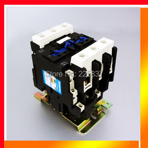 Free shipping CJX2-95 CJX2-9511 AC magnetic contactor LC1-D95 95A normal open normal close 220/380V Coil Voltage Switch 3P+NO+NC a75 30 ac contactor 3pole1no 1nc magnetic contactor