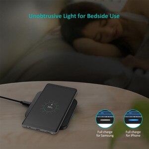 Image 5 - CHOETECH chargeur sans fil anti dérapant en caoutchouc 5W Qi chargeur de charge avec câble Micro USB pour Samsung S8 Note 8 pour iPhone X 8
