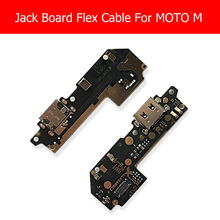 Genuine USB Charging Jack Dock Board For Motorola MOTO M XT1662 XT1663 USB Charger Port Connector