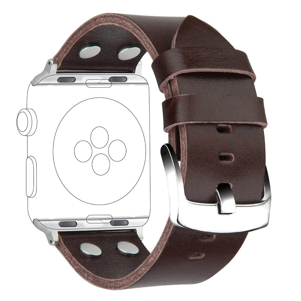 V-MORO 2017 New STRAPS For APPLE WATCH 42MM 38mm Bands Leather iWatch BAND Unique Design For Apple Watch Straps Series 1Series 2 пуловер tony moro tony moro to046emobl41