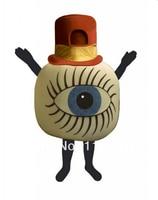 Mascote traje da mascote do globo ocular globo ocular mascote personalizado fantasia kits traje cosplay anime mascotte fancy dress traje do carnaval