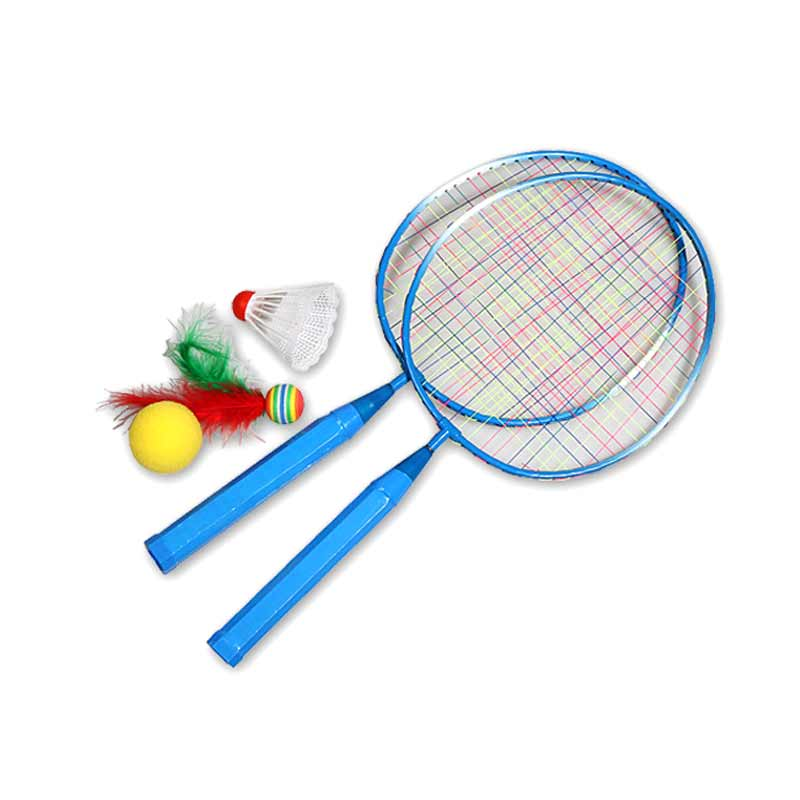 1 Pair Youth Children's Badminton Rackets Sports Cartoon Suit Toy for Children  C55K Sale