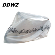 Bike Dust Cover 210CM*100CM Scooter Rain Cover Waterproof Outdoor Bicycle Accessories Clothing Sets Protection Polyester