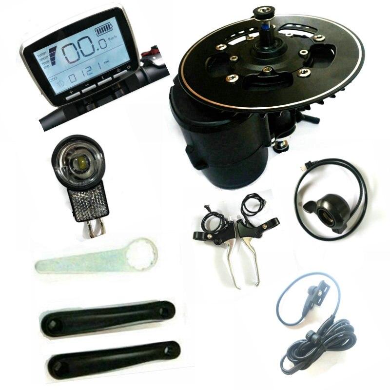 FREE SHIPPING 52V 750w Tongsheng TSDZ2 ebike Kit Mid Motor Torque Sensor Ebike Motor Throttle Brake