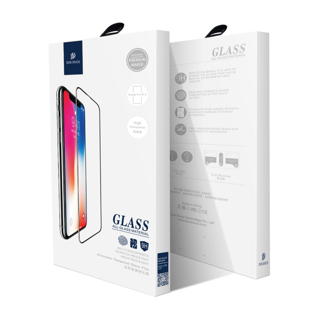 Dux Ducis Full Cover Tempered Glass For Iphone Xs Max 3d Screen Protector For Iphone Xr Xs On Iphone X S Protective Glass Film in Phone Screen Protectors from Cellphones Telecommunications