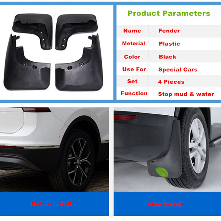 Mud Flaps Splash Guard for Honda CRV CR-V 2012-2015 Fender Mudguard 4 pieces