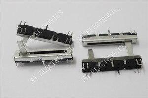 [LAN] Черный 4,5 см 45 мм длинный двойной миксер переключатель потенциометра фейдера B10K X2--10PCS/лот