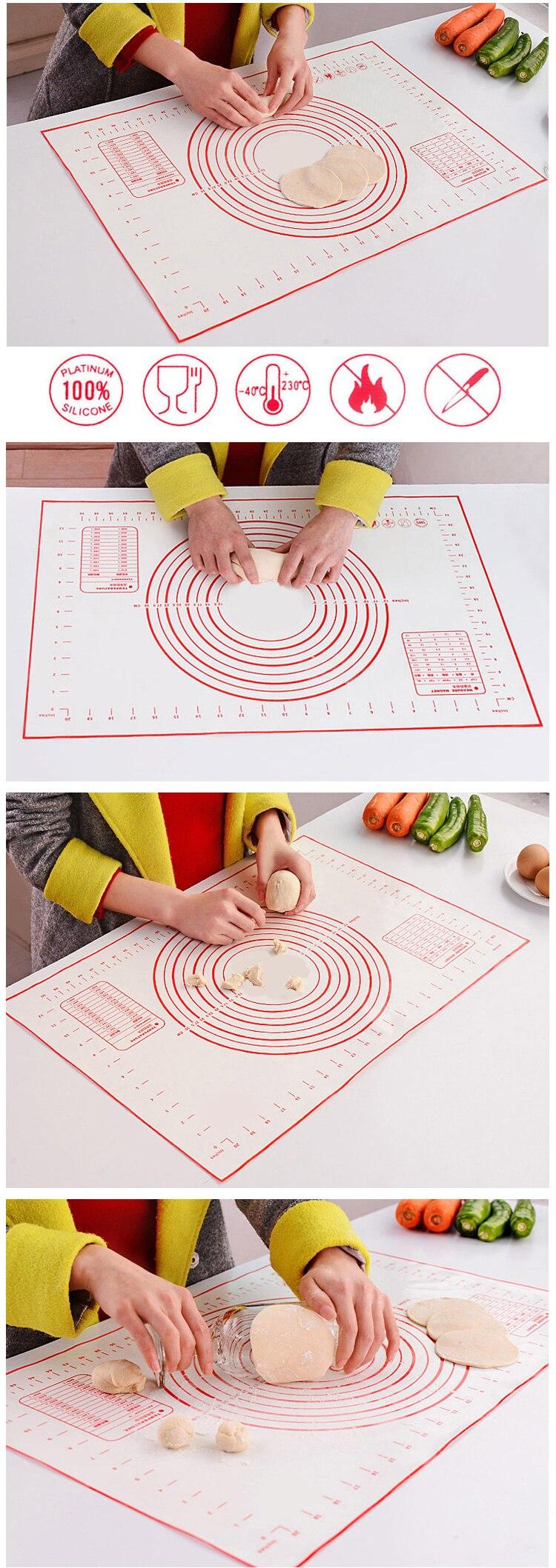 dough making & baking mat