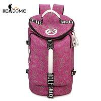 Women Gym Bag Fitness Training Rucksack Bucket Cylinder Handbag Men Travel Sports Bolsa Sac De Sporttas Deportivo Mujer XA158D