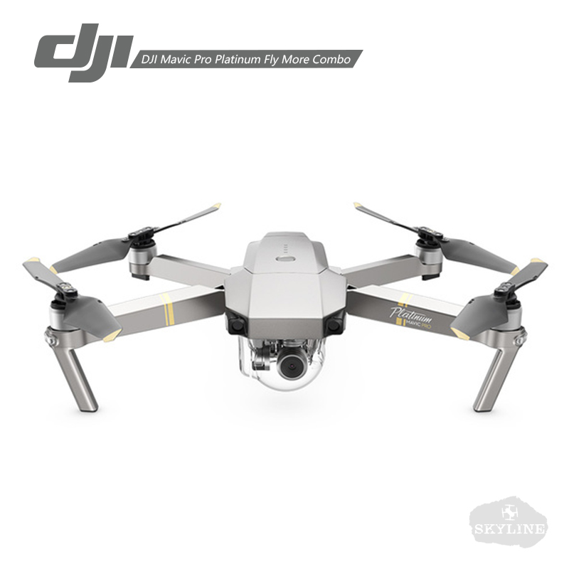 dji mavic pro fly more combo platinum alpine white combo quadcopter 4k hd camera 3 axis gimbal. Black Bedroom Furniture Sets. Home Design Ideas