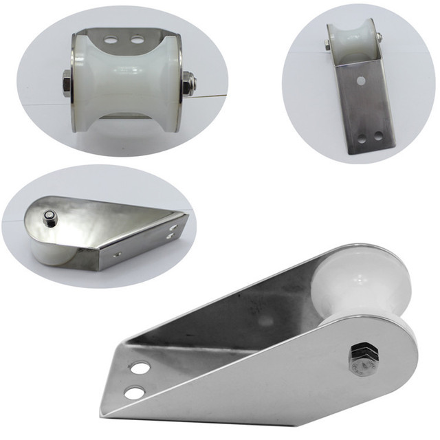Stainless Steel 316 Marine Hardware Bow Roller Anchor Roller for Marine Yacht Boat Accessories