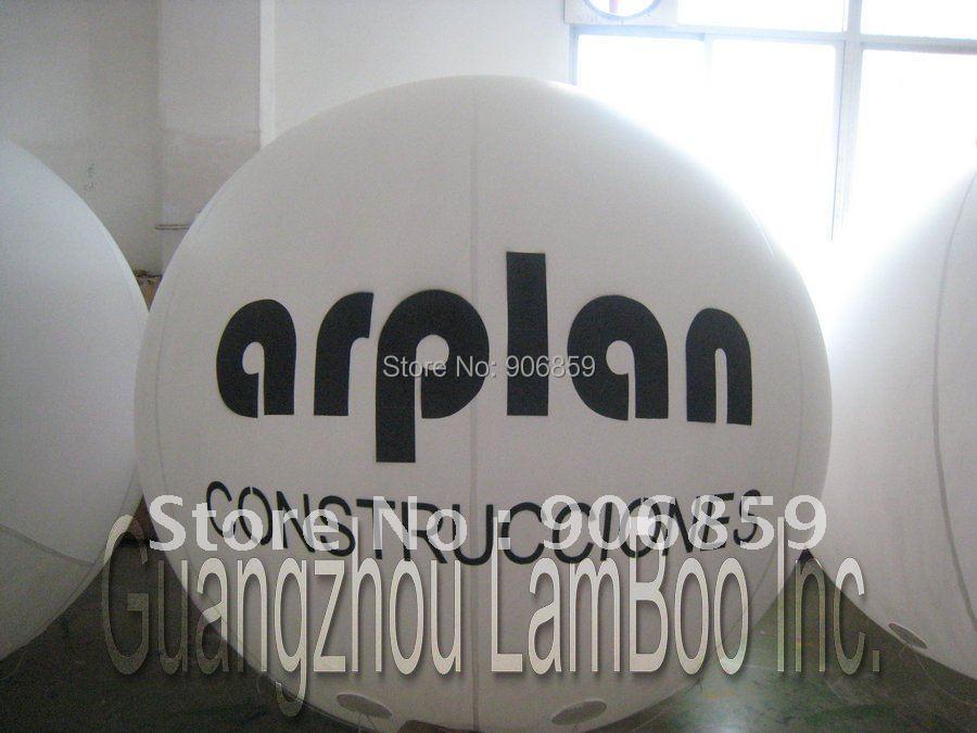 Лидер продаж 2 метров Диаметр надувные гелием воздушный шар для события/ADERTISEMENT/