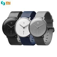 Оригинальный Xiaomi Mijia кварцевые Smartwatch IP67 Водонепроницаемость  шагомер корпус из нержавеющей умный вибрации Водонепроницаемый часы( 29fa82ac65e