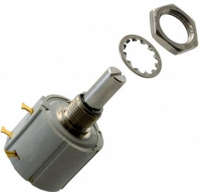 100 ORIGINAL 7286 R1K R2K R5K R10K R20K R50K R100K 2W Rotary Wirewound Potentiometer Connector 7286R10KL