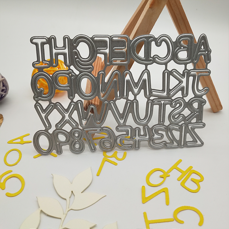 Clock Shape Metal Cutting Dies Stencil for DIY Scrapbooking Album Cards UQ