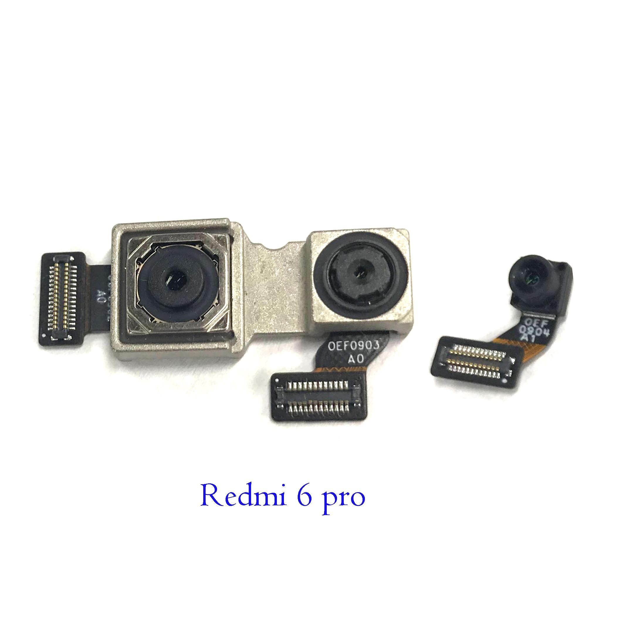 New Original Front Facing Camera Rear Back Main Camera For Xiaomi Redmi 6 Pro/Mi A2 Lite