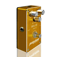 Aroma ADL 1 Delay Electric Guitar Effect Pedal For Guitarists Aluminum Alloy Housing True Bypass Hot