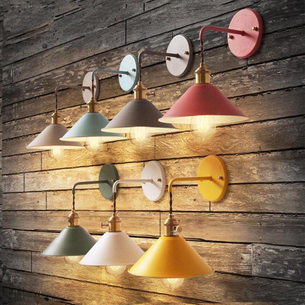 Светодиодные Бра Ночники лампы для чтения настенный настольные Lamps110V-220V современный настенный светильник