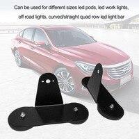 Neueste 2 stücke Halterung Halter mit Starken Magnetfuß Stanzen-freies Leistungsstarke Dach Led-lichtleiste für Offroad auto Heißer Verkauf
