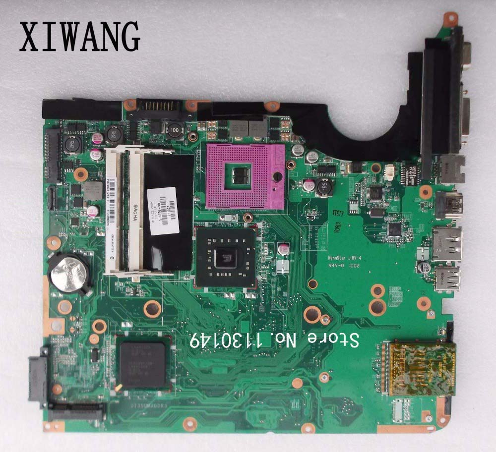 Free Shipping LAPTOP Motherboard FOR HP DV6 DV6-2000 Motherboard 578376-001 Mainboard Tested Well