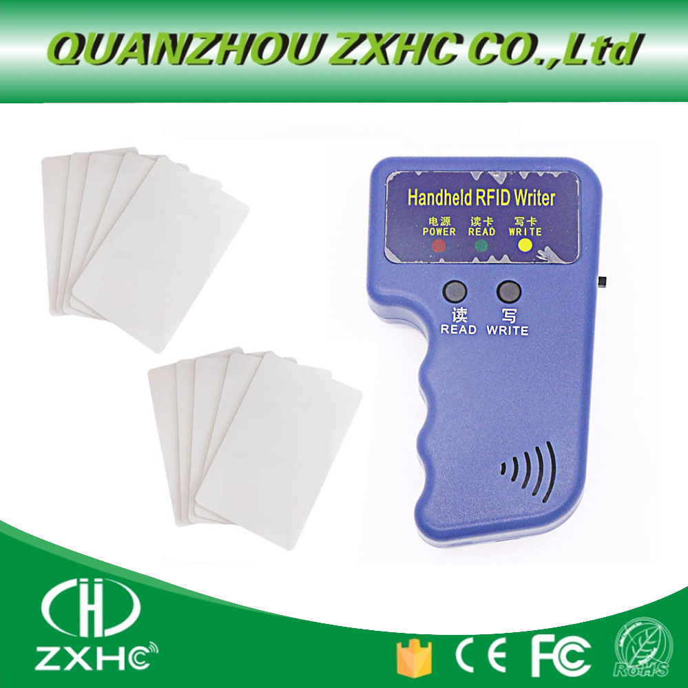 Handheld ID Cards 125KHz RFID Copier Reader Writer Duplicator Used for  T5577 EM4305 Copy cards or