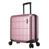 PC18Boutique trolley case,Flight attendant boarding password box,Hard shell luggage,Silent caster suitcase,valise,Gift trunk