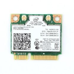 ثنائي النطاق AC1200 محول لاسلكي إنتل 7260 7260HMW التيار المتناوب بطاقة PCI-E صغيرة 2.4G/5G واي فاي + بلوتوث 4.0 لديل/سوني/أيسر/آسوس