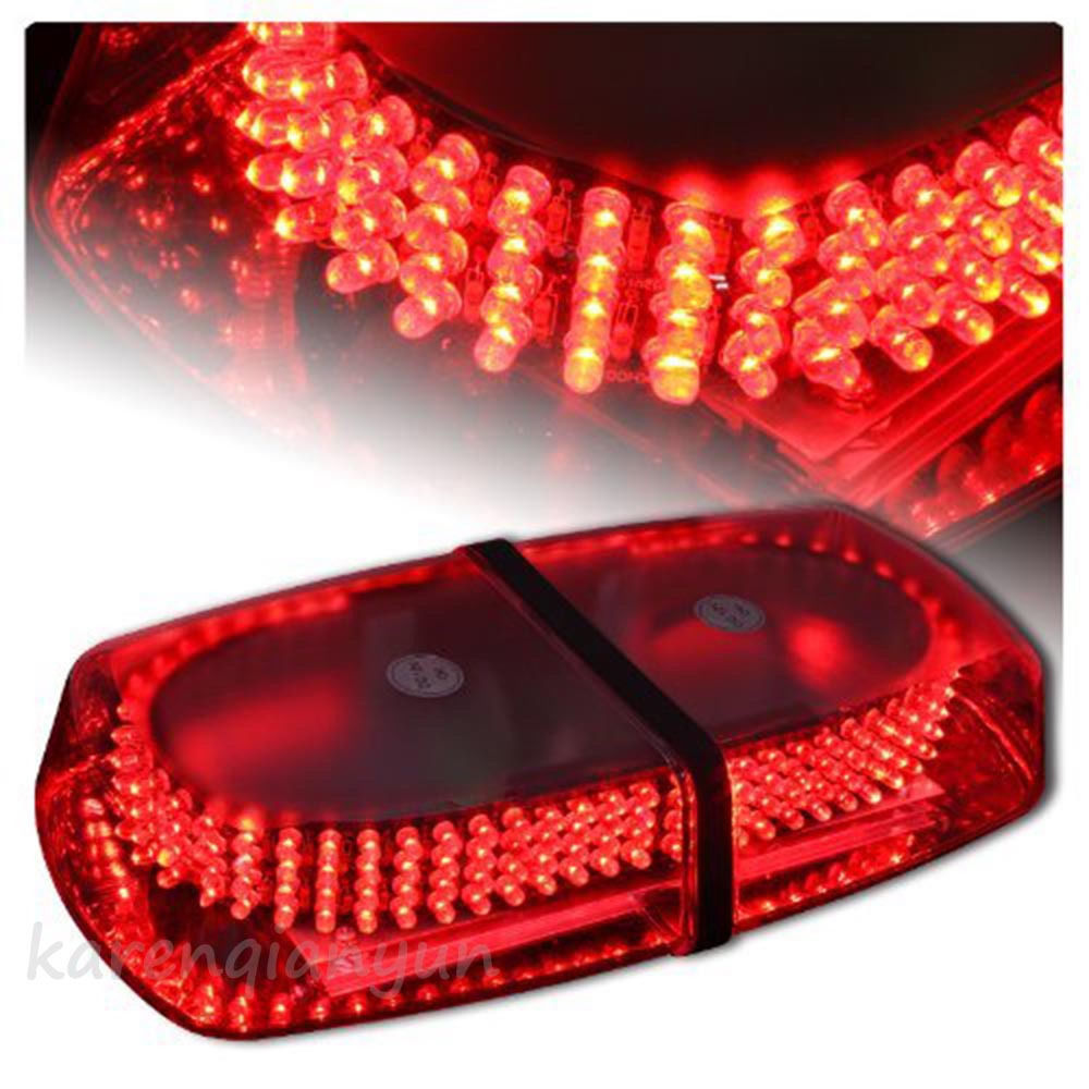 Car Top Roof Emergency Lights LED 12V Police Auto Flash Strobe Warning Light Bar Super Bright 240 LED Waterproof Red Lamp free shipping 240 led car auto roof flash strobe magnets 8 modes emergency strobe warning police light shell white color