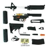 M4A1 J9 JM J9 гель Blaster нейлон реплики V2 Шестерни электронный ящик воды гель шарик пистолет с полу/Авто Функция