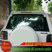 For Toyota RAV4 High Quality ABS Material Spoiler White or Black or Primer DIY Color Spoiler RAV4 1995 1996 1997 1998 1999 2000