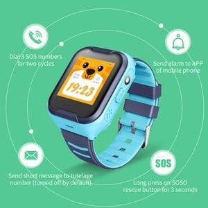 Image 5 - KG50 4G Детские Смарт часы, GPS трекер, детские часы, 4G Видео smartwatch, SOS будильник, камера, телефон, часы для детей PK A36E