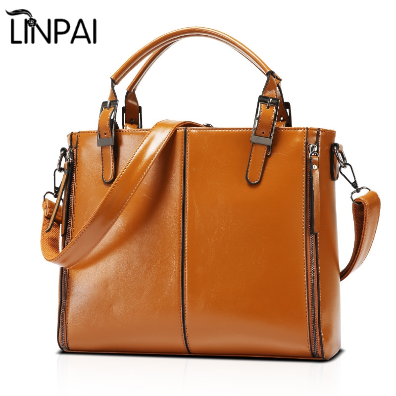 New arrival Fashion waxy leather bags Hot sale women PU leather handbag famous female totes bag star style shoulder bag new arrival super star leather shoulder tote boston hobo bag hot sale hollywood fashion style high quality handbag for women