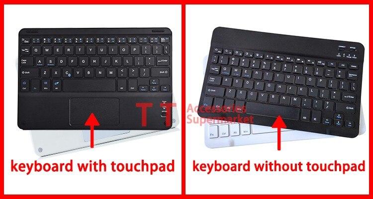 Evrensel Kablosuz Bluetooth Klavye Durumda Universa Chuwi HI10 10.1 - Tablet Aksesuarları - Fotoğraf 3