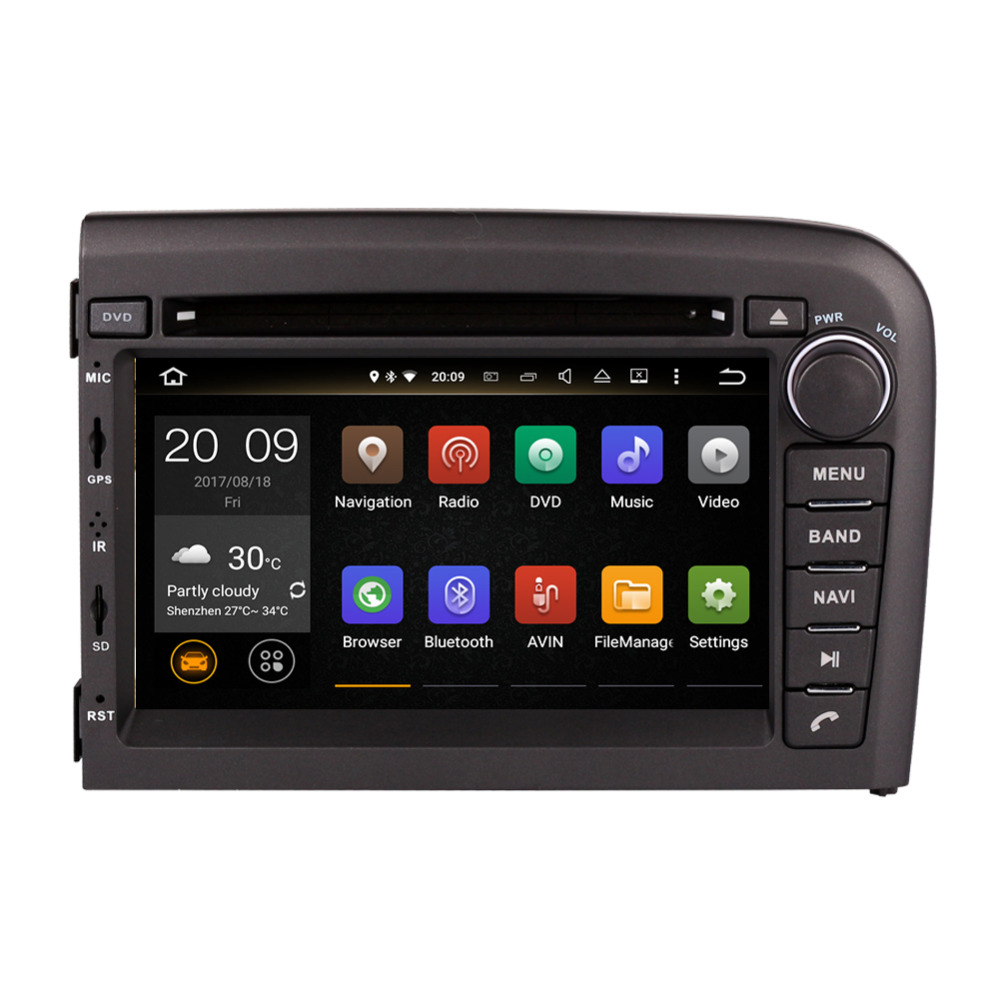 7f5462088 Android 8,0 Octa Core 4 GB RAM 32 GB ROM coche reproductor Multimedia Radio estéreo  para Volvo S80 1998- 2006 navegación GPS Bluetooth ~ Hot Deal July 2019