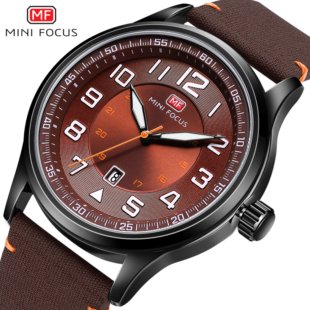 цена на MINIFOCUS Unique Wristwatch Nylon Strap Quartz Waterproof Watches Men Fashion Casual Clock For Male Army Military Sport Watch