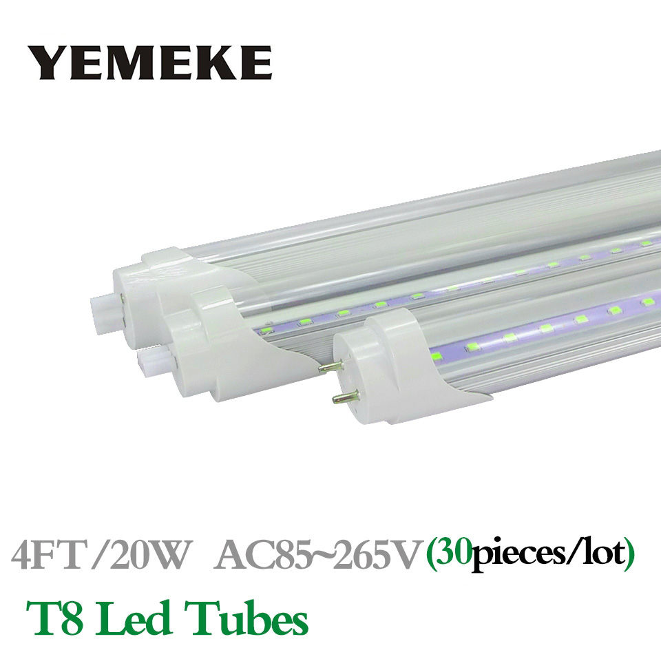LED Tube Light T8 Lampada LED 4ft 1200mm High Quality LED Lamp Warm Cool White Home Decoration Tubes Bulbs LED Lighting Light