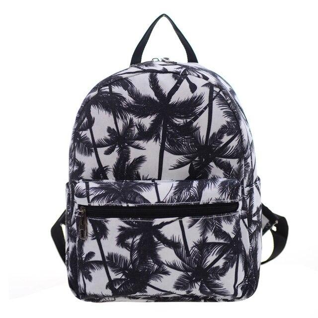 Fashion Women S Backpack Canvas Printing School Bags Age Cute Bookbags Laptop Backpacks Female Feminina Mochila