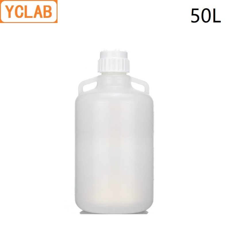 YCLAB 50L PP Plastic Bucket Liquid Storage Barrel Can be Sterilized at 121 Degrees and High Pressure ( Lid Needs to be Opened )YCLAB 50L PP Plastic Bucket Liquid Storage Barrel Can be Sterilized at 121 Degrees and High Pressure ( Lid Needs to be Opened )
