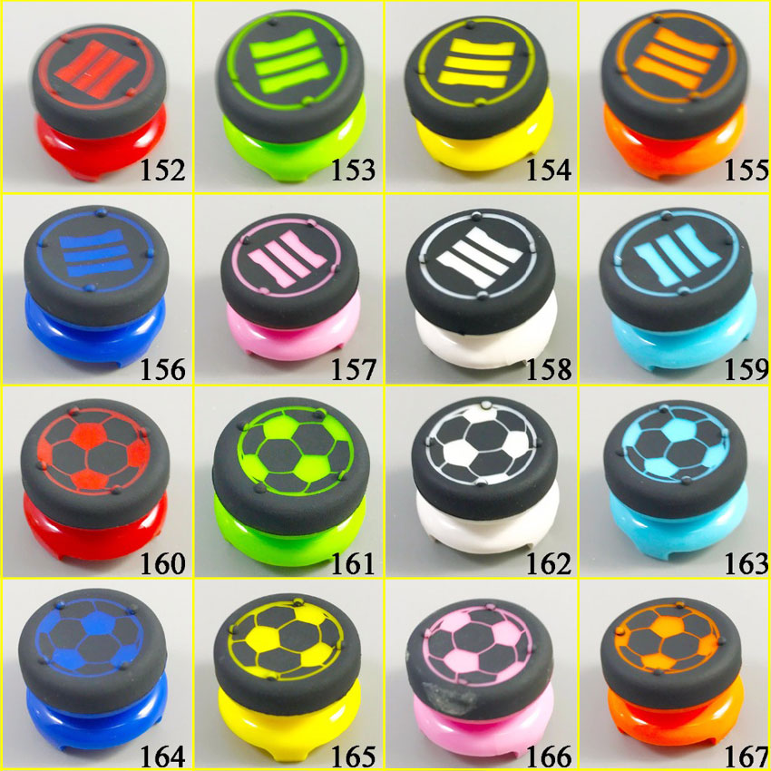 1Piece New Analog Extend Thumbtick Joysticks Caps Covers Grips Enhanced Grips Joystick Grips For PS4 PS3 For Xbox360 Controller