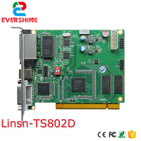 LINSN TS802D Sending Card 640 2048 Pixel Video Controller Card Full Color LED Video Display LINSN