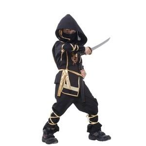 Image 4 - Birthday Dragon Ninja Costume Cosplay Warrior Costume Kids Boys Girls Children Swordsman Suit Costumes