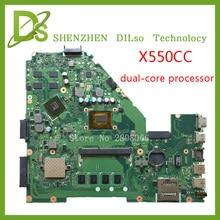KEFU X550CC motherboard Für ASUS X550CC X550CL Laptop motherboard X550CC mainboard REV2.0 PM freeshipping 100% getestet