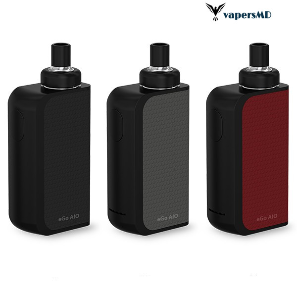 Original Joyetech EGO AIO Box mod Electronic Cigarette Kit 2ml Capacity Atomizer BF SS316 Coil and
