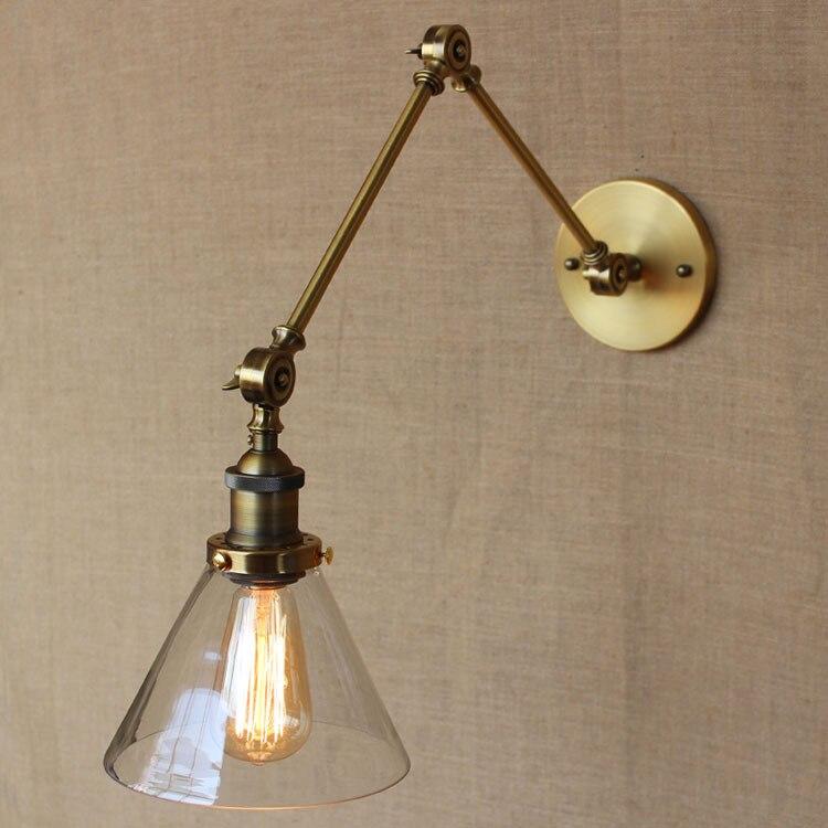 Американский индустриальном стиле золотой старое эксклюзивный дизайн бронза железо свет спальня свет кофейня свет бесплатная доставка