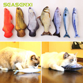 7 Style Catnip Toys for Cat Cats Fish Pet Toys For Kitten Cushion Grass Bite Chew Scratch Pillow Cats Supplies Pet Products Play