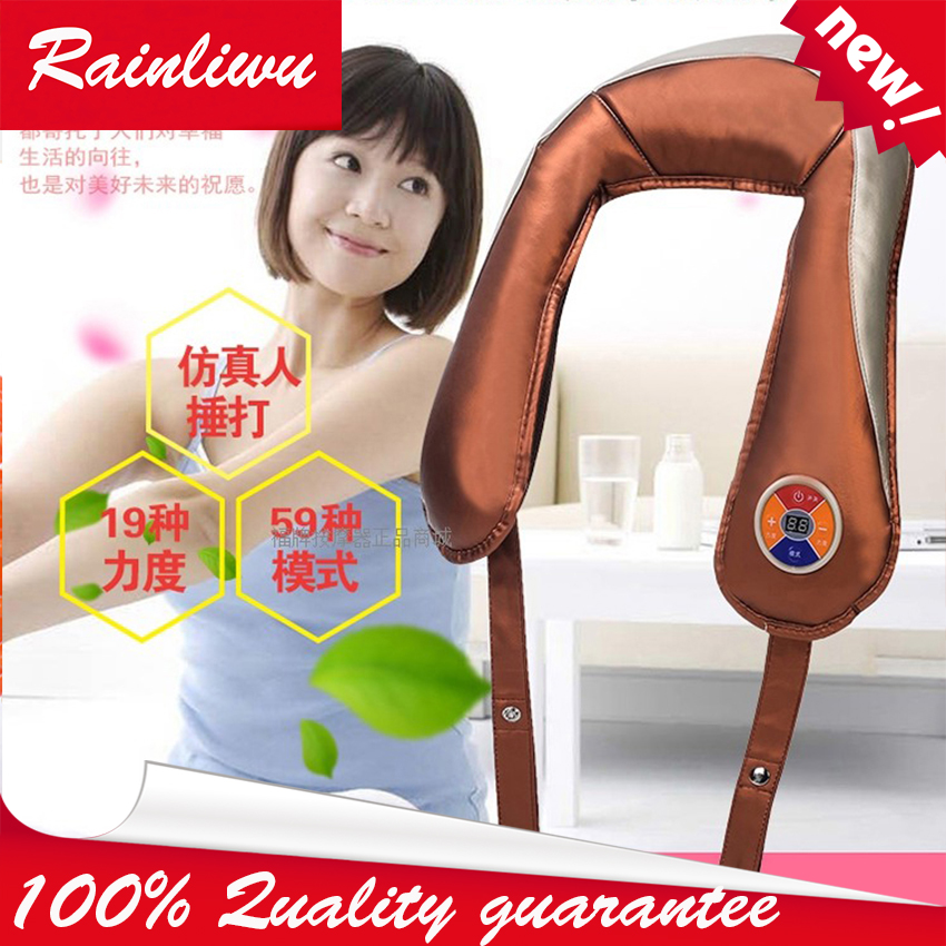 Massage shawl Body beating massage Cape Apply massage Multiple body parts Alleviating shoulder neck pain Health care instrument home health care instrument chinese body massage device neck massager red light heating kneading massage shawl 120804