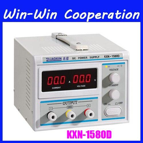 ZHAOXIN All New Digital KXN-1580D High-power Switching DC Power Supply, 0-15V Voltage Output,0-80A Current Output импульсный источник питания zhaoxin em trust kxn 6020d 60v20a