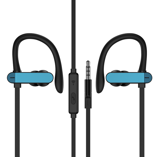 PTM Earphone New Popular Earbuds Gym Headset Noise Cancelling Headphones with Microphone for Sports Handsfree Earpiece Audifonos
